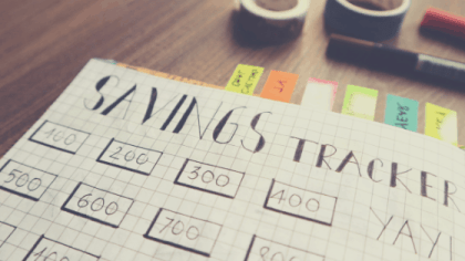 how to get better with money by saving