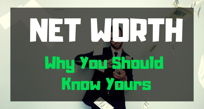 net worth worksheet