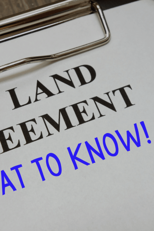 what to know when buying land