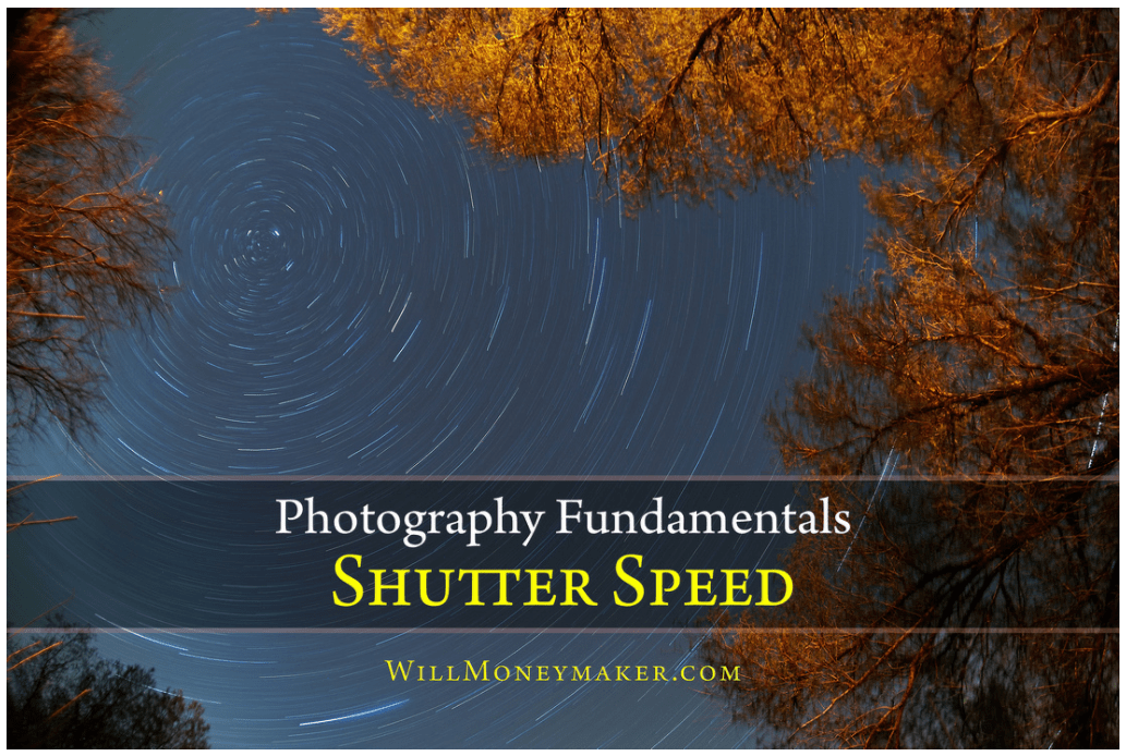 2 – Choose a slow shutter speed