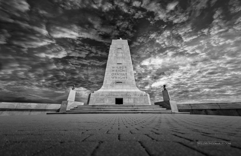 Here's another photo from my weekend at the Wright Brothers National Memorial using the Platypod.