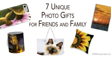 7 Unique Photo Gifts for Friends and Family