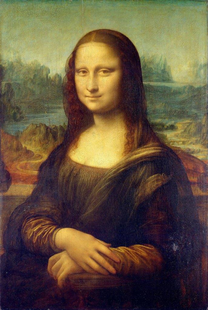 Mona Lisa, by Leonardo da Vinci, from