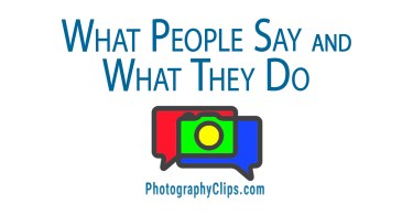 What People Say and What They Do
