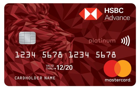 HSBC advance platinum Credit Card