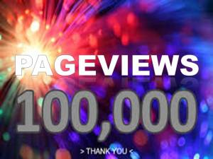 100000 pageviews from Facebook