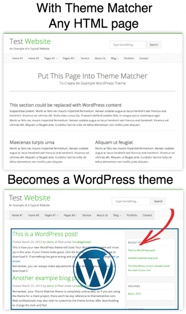 How to clone a website's theme