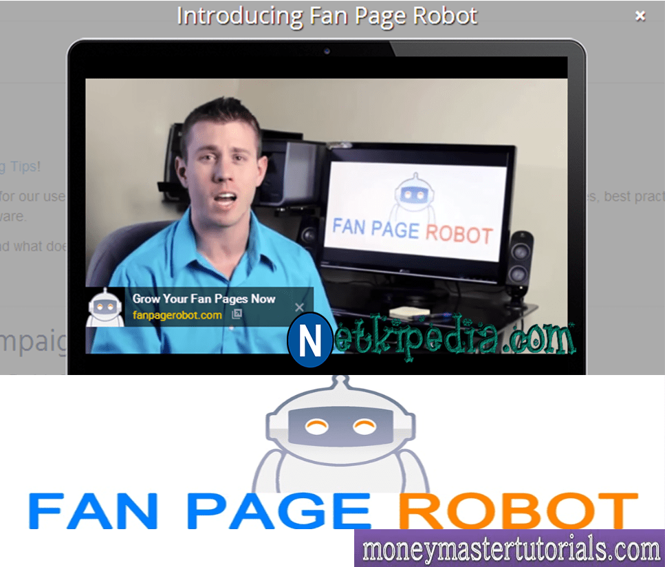 How to use Fan Page Robot