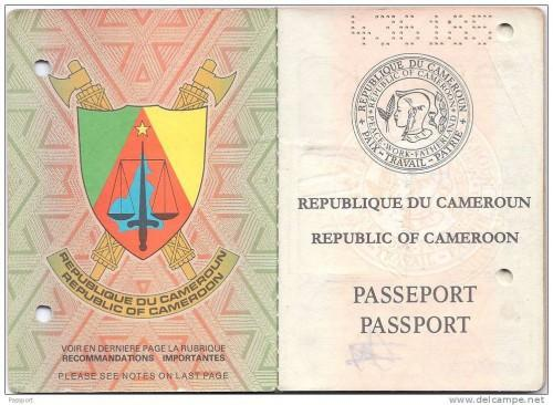 passport in cameroon