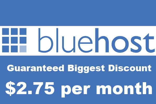 BlueHost Hosting Coupon: Save 66% + Free Domain