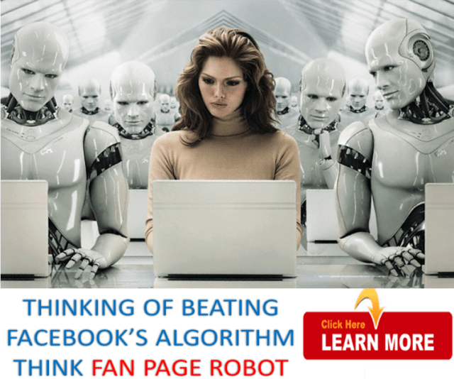 fan page robot social media automation tool