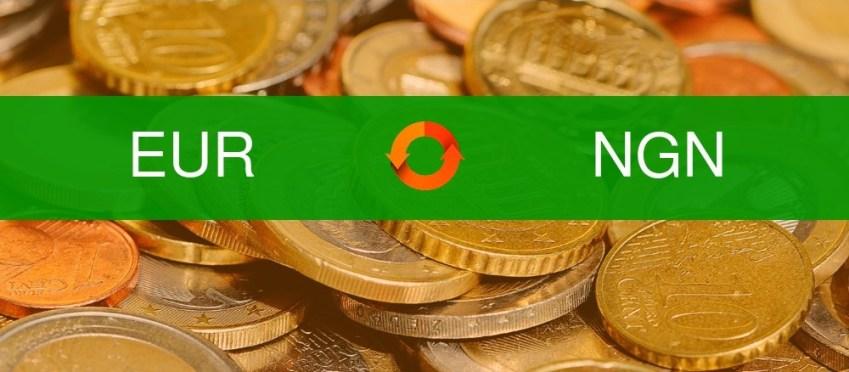 Euro to Naira Exchange Rate Today