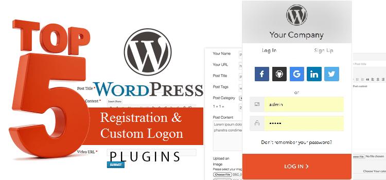 5 Best WordPress Plugins for User Registration and Login