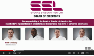 Stocks and Securities Promo Video