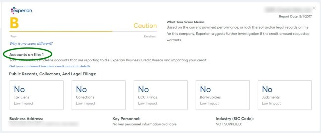 Nav review how to check your business credit score and more for instead of a score between 300 and 850 that you get for your personal credit this is simply a range from a f indicating your business credit health reheart Choice Image