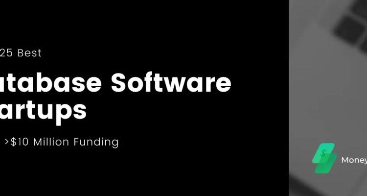Top Database Software Tech Startups