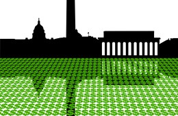 capitol money DC momuments