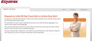 free credit report fraud alert