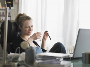 home office business use of home water
