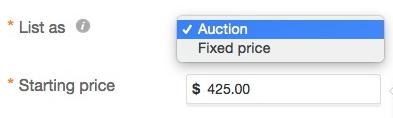 amazon vs ebay selling auction