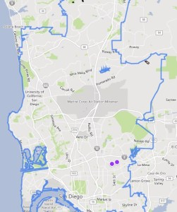 rent in ten cities san diego two results