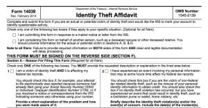 tax refund theft irs ip pin form refund