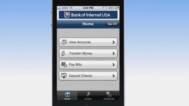 cash check with iphone bank of internet 3
