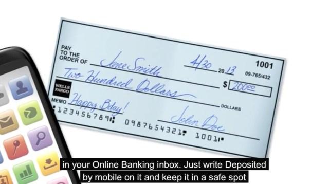 deposit checks iphone mark deposited