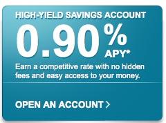 high yield savings account american express