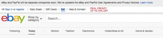 how to sell on ebay click sell