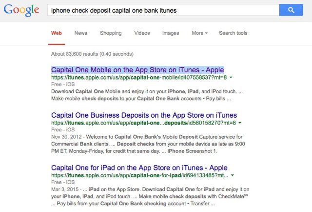 iphone check deposit app bank