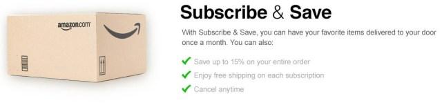 money saving tips moms amazon subscriptions