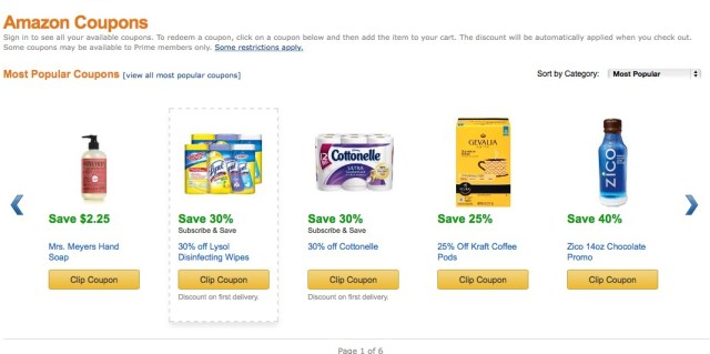 save money amazon coupons