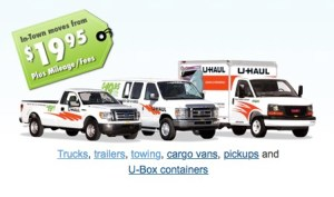 how to estimate moving costs uhaul truck rental