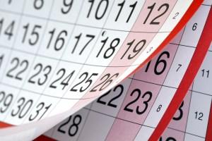 late payment bills calendar