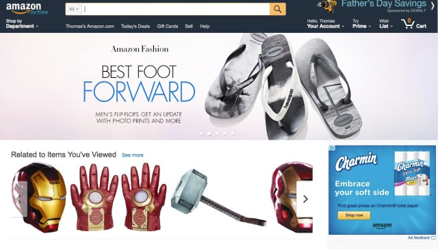 shop in stores sell on amazon