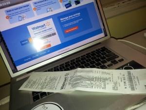 walmart savings catcher receipt save money