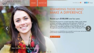 big scholarships buick achievers