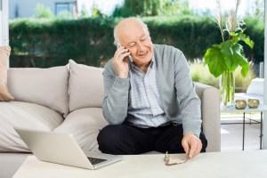 debt collectors on phone