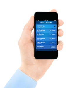 is iphone banking safe password