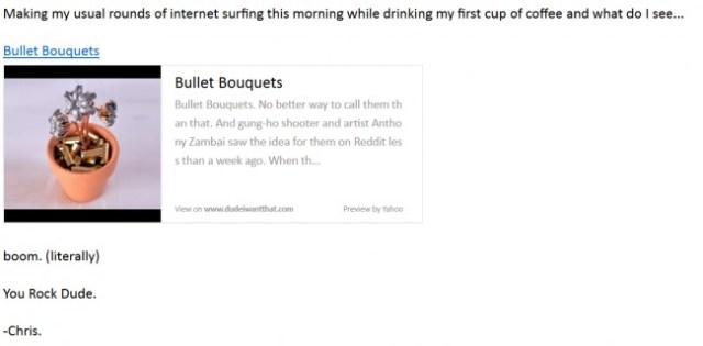 make money on reddit bullet bouquets email