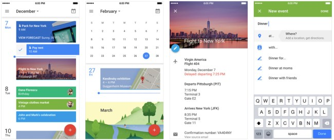 Google Calendar App Save Money iPhone
