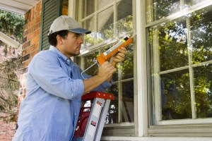 home maintenance tasks save money window caulk