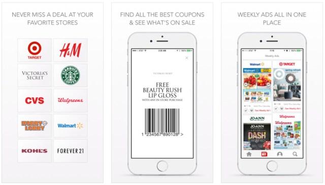 iphone coupon apps shopular