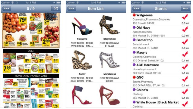 iphone coupon apps weekly ads and sales