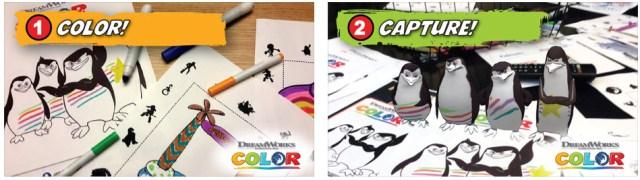 kids eat free dennys dreamworks color app