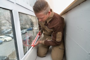 save money home maintenance caulk