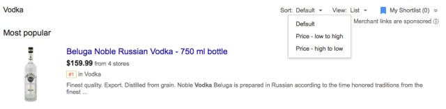 save money on alcohol google shopping