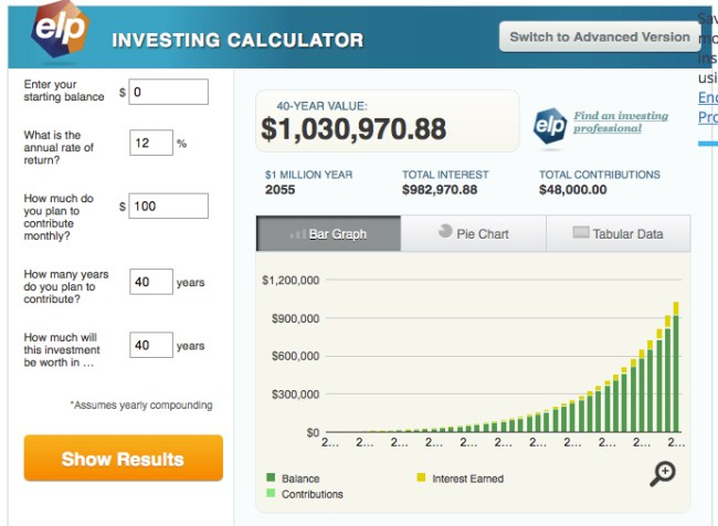 Budget Ideas Dave Ramsey investment calculator