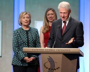 How much does Hillary Clinton make in a year Bill Clinton